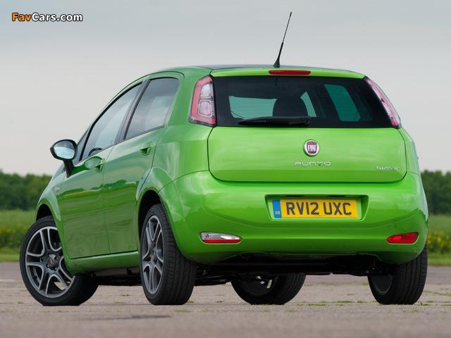 Fiat Punto TwinAir 5-door UK-spec (199) 2012–13 photos (640 x 480)