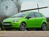 Fiat Punto TwinAir 5-door UK-spec (199) 2012–13 pictures