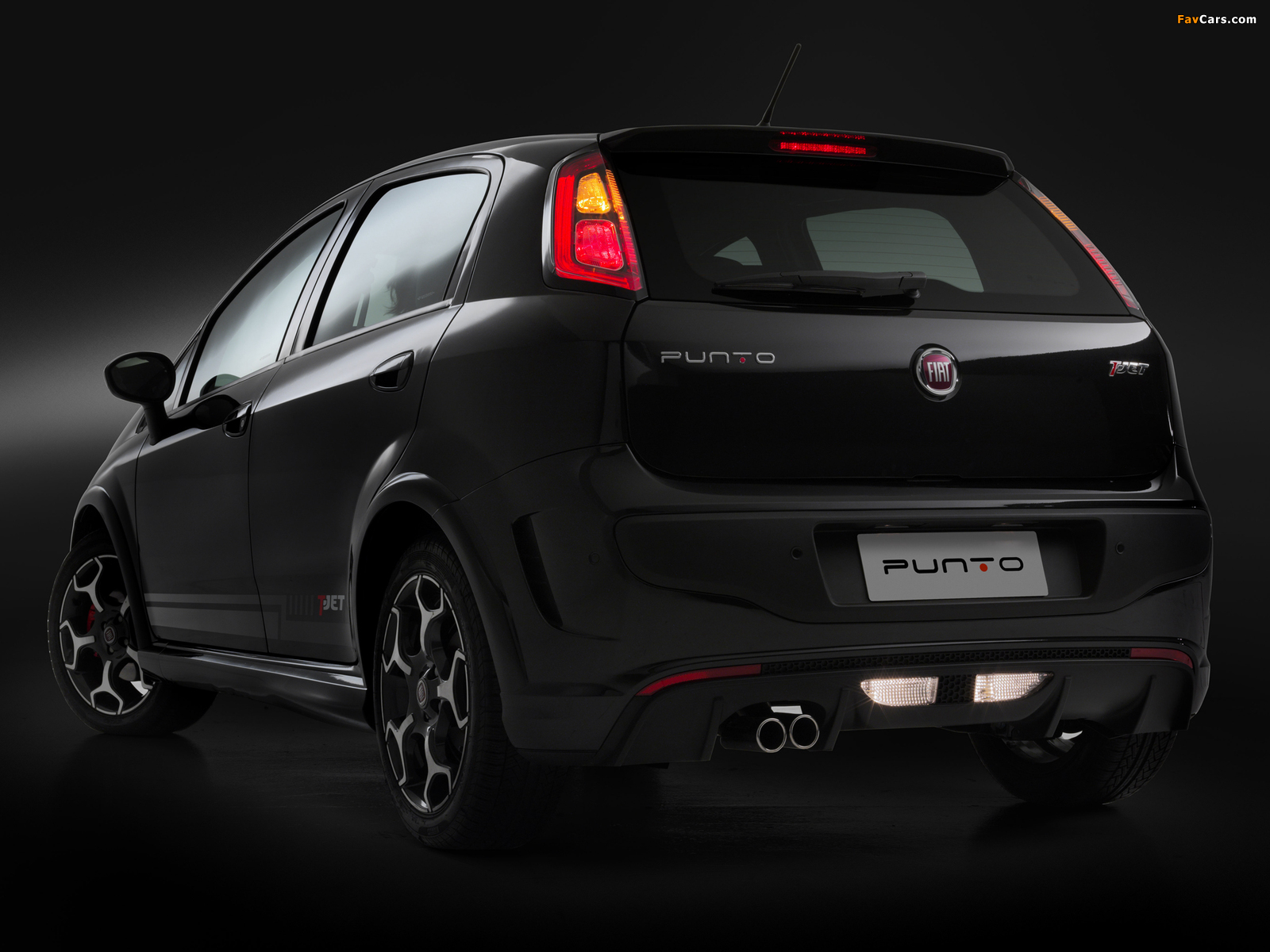Fiat Punto T Jet Br Spec 310 2012 Wallpapers 1600x1200