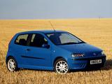 Images of Fiat Punto HGT UK-spec (188) 1999–2003
