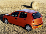 Images of Fiat Punto 5-door UK-spec (188) 1999–2003