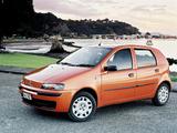 Images of Fiat Punto 5-door NZ-spec (188) 2002–03