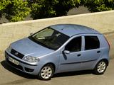 Images of Fiat Punto 5-door (188) 2003–07