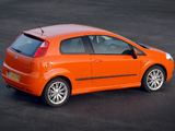 Images of Fiat Grande Punto 3-door UK-spec (199) 2006–10