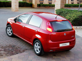 Images of Fiat Grande Punto 5-door ZA-spec (199) 2006–09