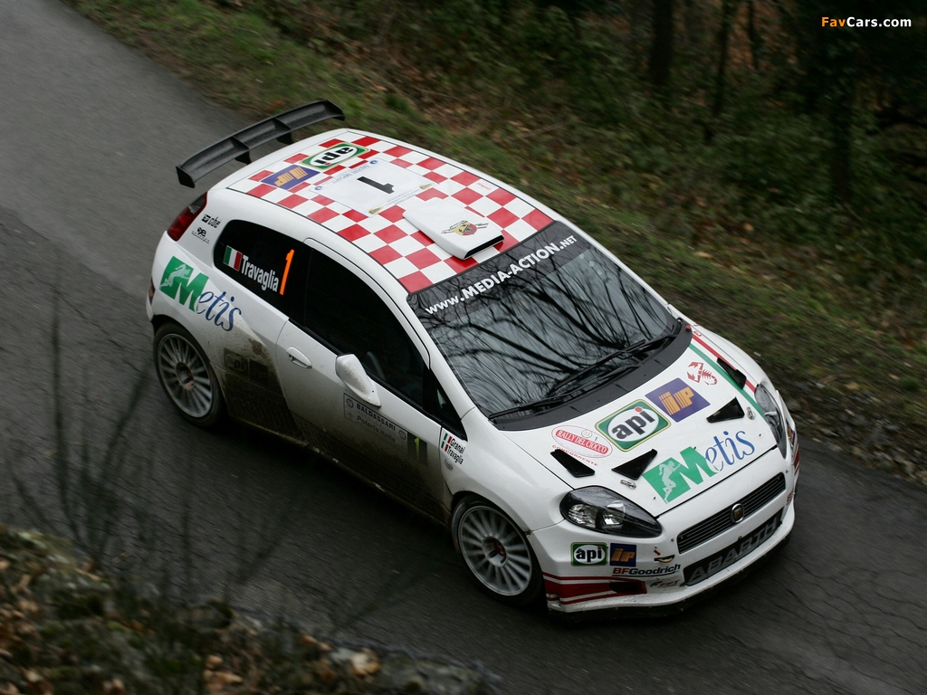 Images of Abarth Grande Punto S2000 (199) 2007–10 (1024 x 768)