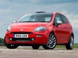 Images of Fiat Punto 3-door UK-spec (199) 2012