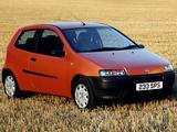 Photos of Fiat Punto 3-door UK-spec (188) 1999–2003