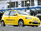 Photos of Fiat Punto HGT Abarth UK-spec (188) 2001–03