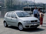 Photos of Fiat Punto 5-door (188) 2003–07