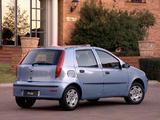 Photos of Fiat Punto 5-door ZA-spec (188) 2003–05