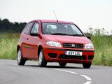 Photos of Fiat Punto 3-door UK-spec (188) 2003–05