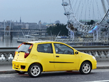 Photos of Fiat Punto Sporting UK-spec (188) 2003–05