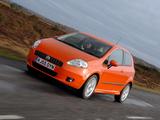Photos of Fiat Grande Punto 3-door UK-spec (199) 2006–10