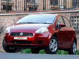 Photos of Fiat Grande Punto 5-door ZA-spec (199) 2006–09