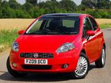 Photos of Fiat Grande Punto 3-door UK-spec (199) 2006–10