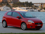 Photos of Fiat Punto T-Jet 3-door AU-spec (199) 2008–09