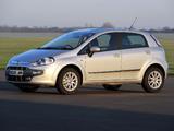 Photos of Fiat Punto Evo 5-door UK-spec (199) 2010–12