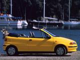 Pictures of Fiat Punto Cabrio S (176) 1994–2000