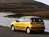 Pictures of Fiat Punto Sporting UK-spec (176) 1995–99
