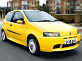 Pictures of Fiat Punto HGT Abarth UK-spec (188) 2001–03