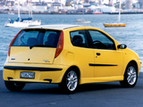 Pictures of Fiat Punto Sporting NZ-spec (188) 2002–03
