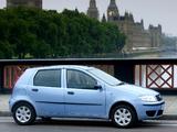 Pictures of Fiat Punto 5-door UK-spec (188) 2003–05