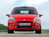 Pictures of Fiat Punto 3-door UK-spec (199) 2012