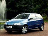 Fiat Punto 3-door UK-spec (176) 1993–99 wallpapers
