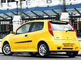 Fiat Punto HGT Abarth UK-spec (188) 2001–03 wallpapers