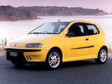 Fiat Punto Sporting NZ-spec (188) 2002–03 wallpapers