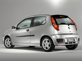 Fiat Punto Sporting (188) 2003–05 wallpapers
