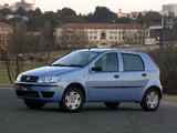 Fiat Punto 5-door ZA-spec (188) 2003–05 wallpapers