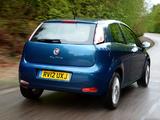 Fiat Punto 3-door UK-spec (199) 2012 wallpapers