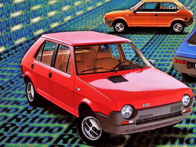 Fiat Ritmo 60 5-door 1978–82 wallpapers (640 x 480)