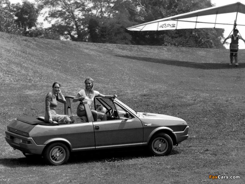 Fiat Ritmo Cabrio Prototipo 1980 images (800 x 600)
