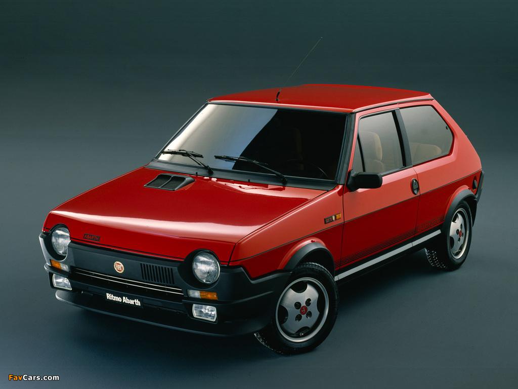 Images of Fiat Ritmo 125TC Abarth 1981–82 (1024 x 768)