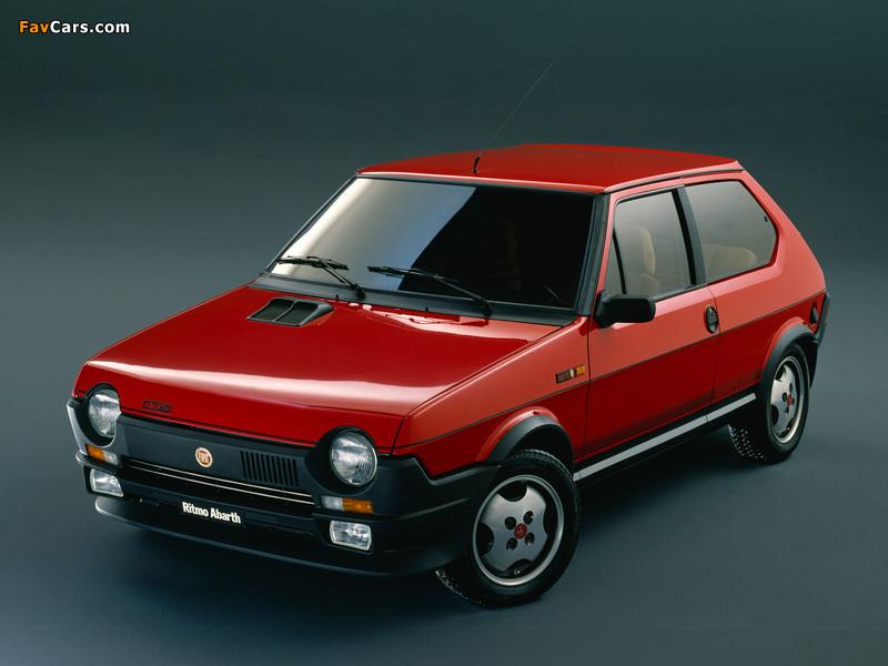Images of Fiat Ritmo 125TC Abarth 1981–82 (800 x 600)