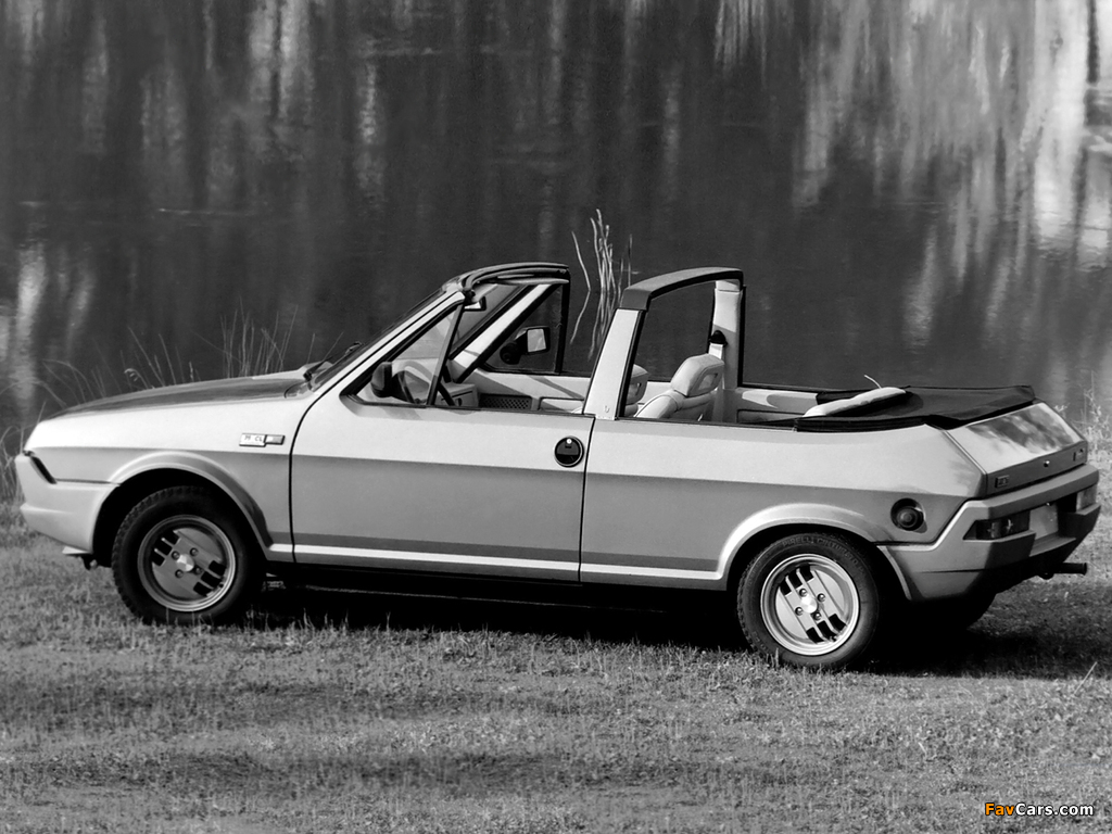 Photos of Fiat Ritmo Cabrio Prototipo 1980 (1024 x 768)