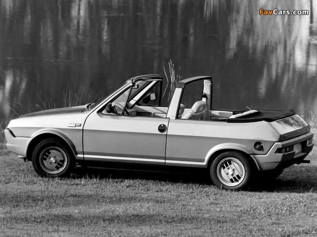 Photos of Fiat Ritmo Cabrio Prototipo 1980 (640 x 480)