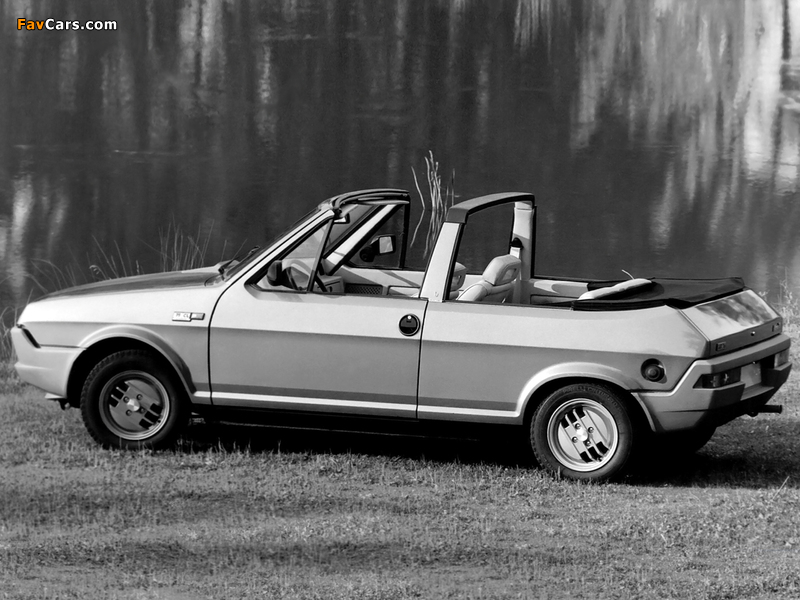 Photos of Fiat Ritmo Cabrio Prototipo 1980 (800 x 600)