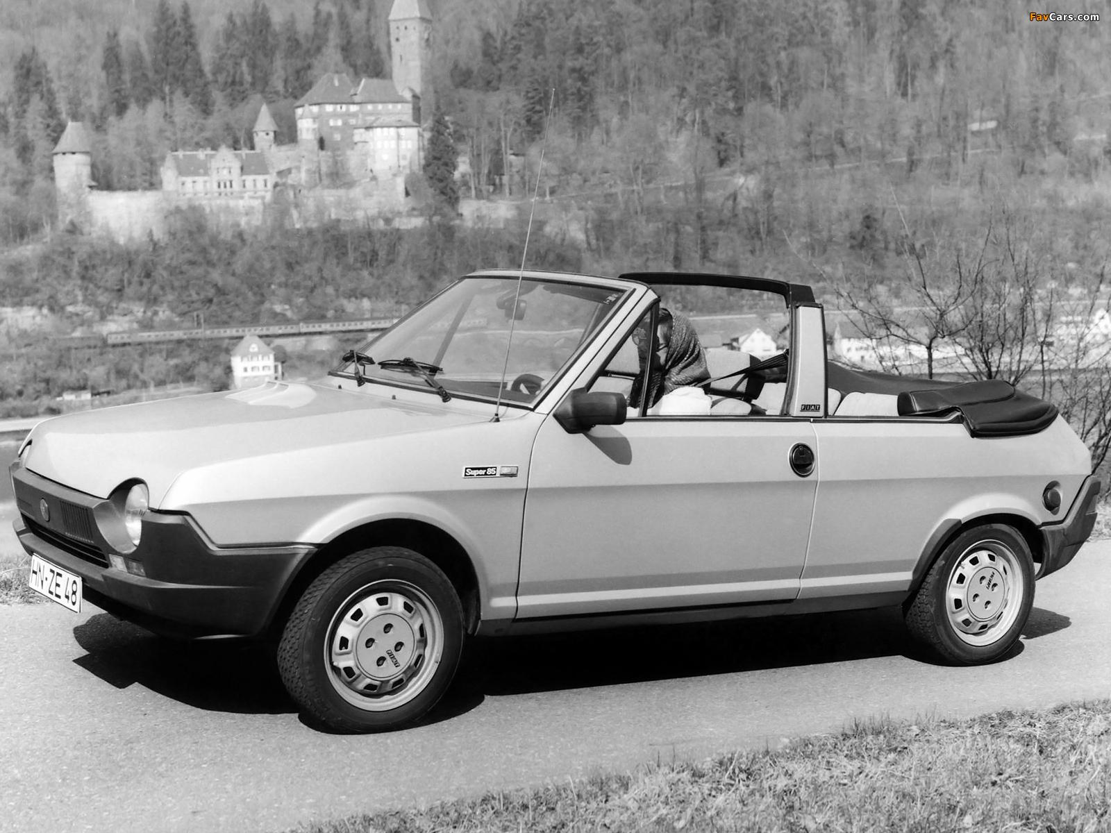 Pictures of Fiat Ritmo Cabrio 1981–82 (1600 x 1200)