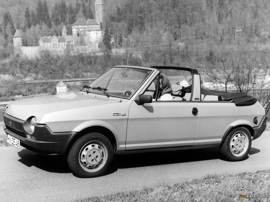 Pictures of Fiat Ritmo Cabrio 1981–82 (1024 x 768)