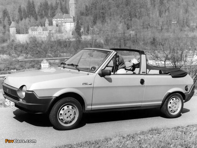 Pictures of Fiat Ritmo Cabrio 1981–82 (640 x 480)