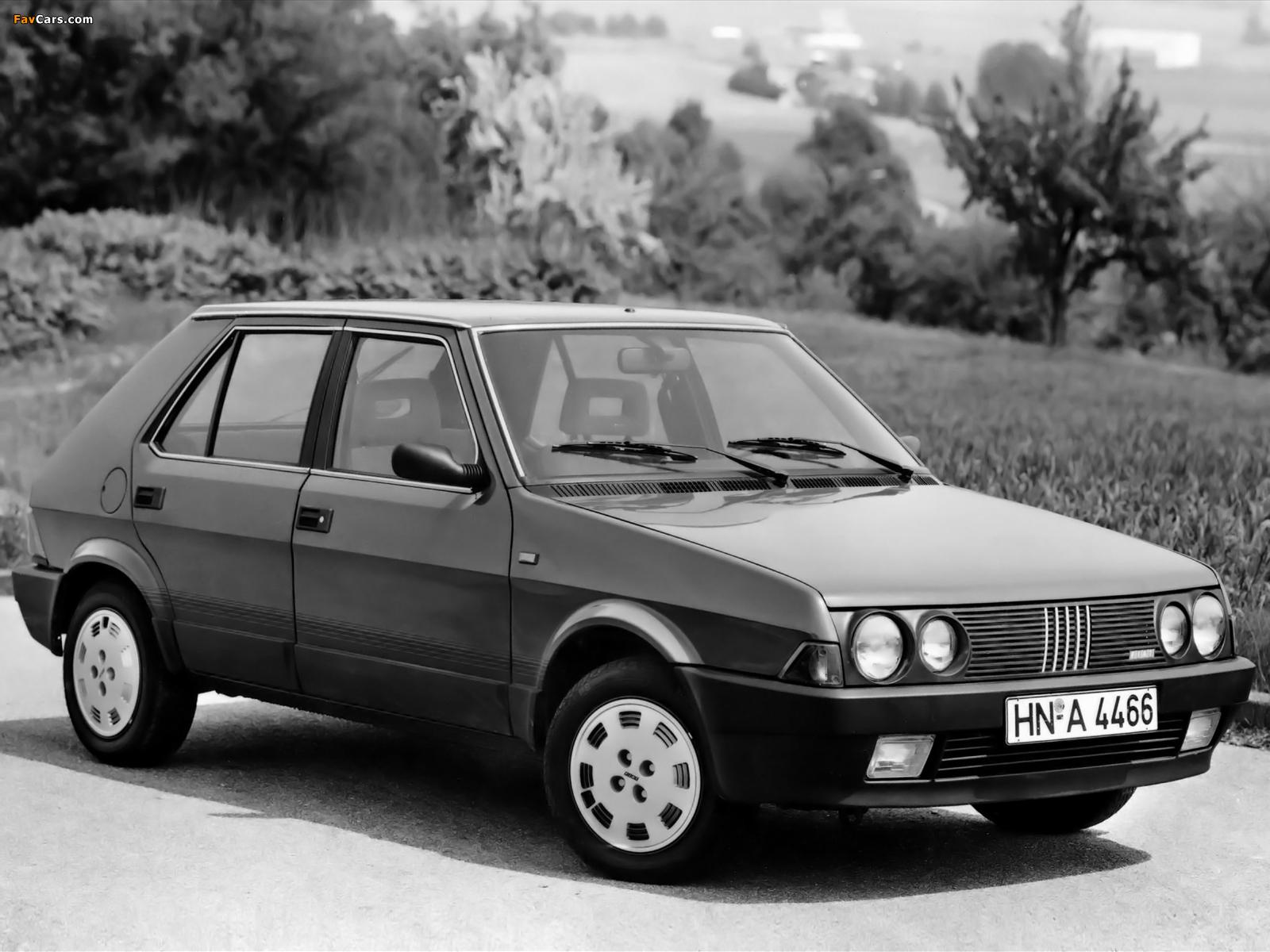 Pictures of Fiat Ritmo 5-door 1985–88 (1600 x 1200)