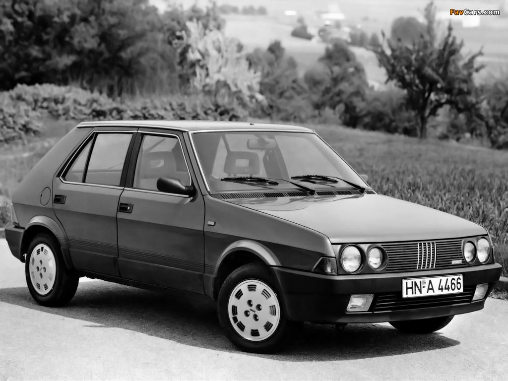 Pictures of Fiat Ritmo 5-door 1985–88 (1024 x 768)
