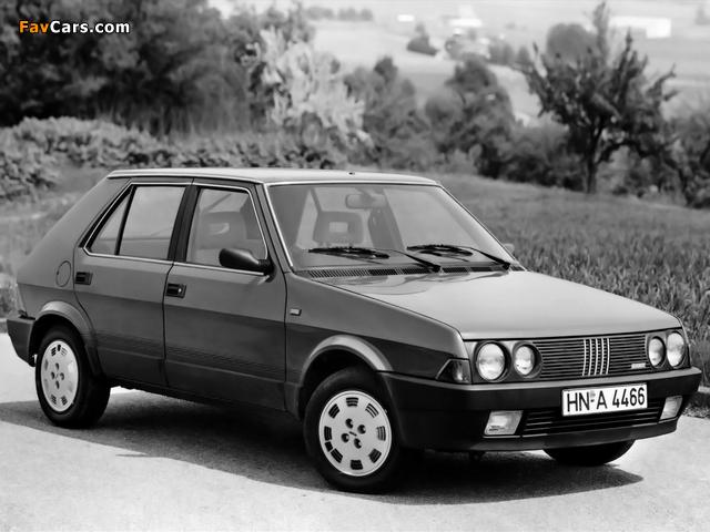 Pictures of Fiat Ritmo 5-door 1985–88 (640 x 480)