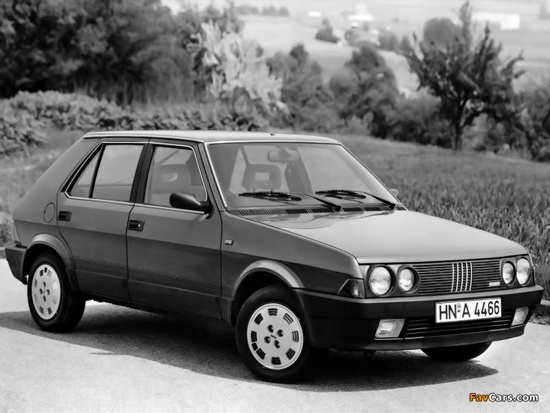 Pictures of Fiat Ritmo 5-door 1985–88 (800 x 600)