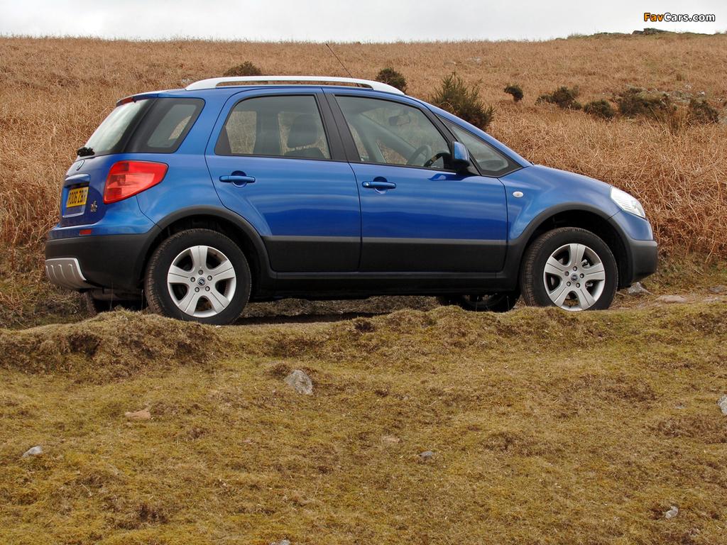 Fiat Sedici UK-spec 2005–09 pictures (1024 x 768)
