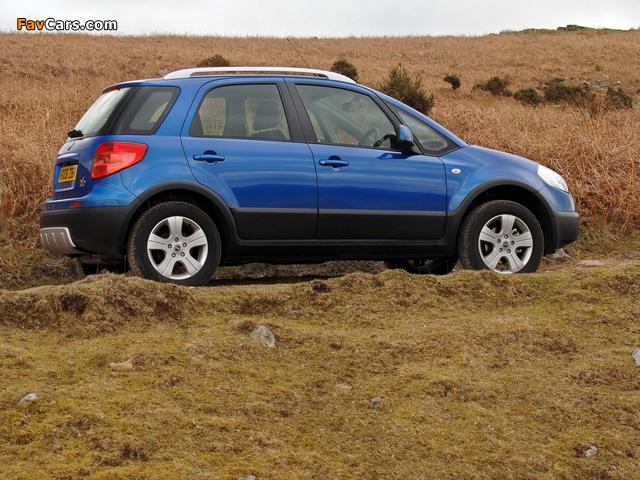Fiat Sedici UK-spec 2005–09 pictures (640 x 480)